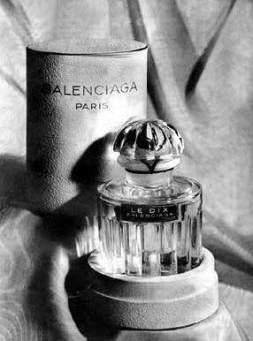Of Vintage Le A Dix Balenciaga1947Scent Perfume By Woman g7vYb6yf