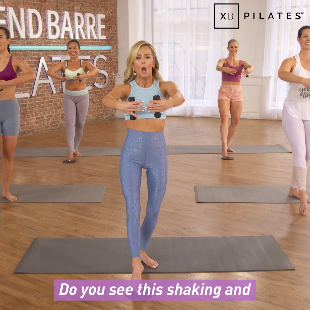 Get that Pilates body at home with our NEW Pilates workouts!