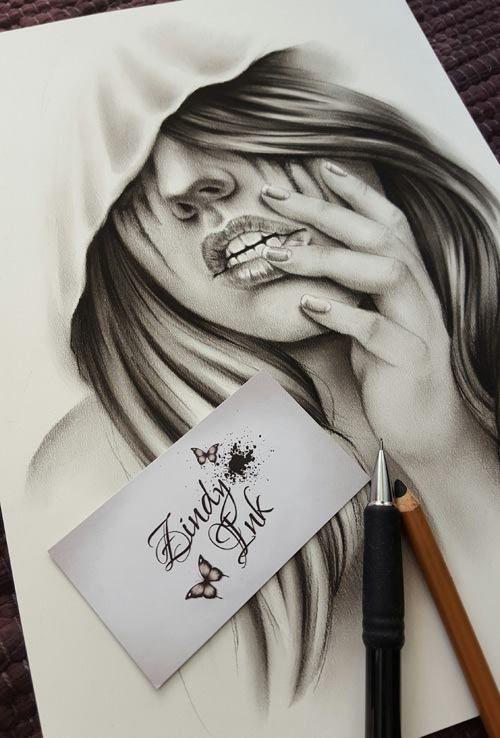 eba4eaf0eaa94 Designs - Zindy Ink, Tattoo artist, Illustrator | drawings | Tattoo ...