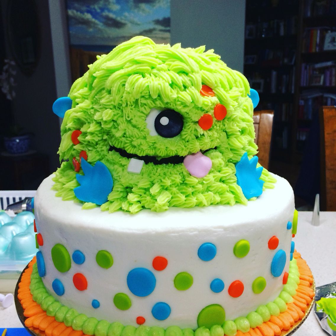 A Little Monster Cake Decorating Pinterest Pastel Nina - Pasteles-nios