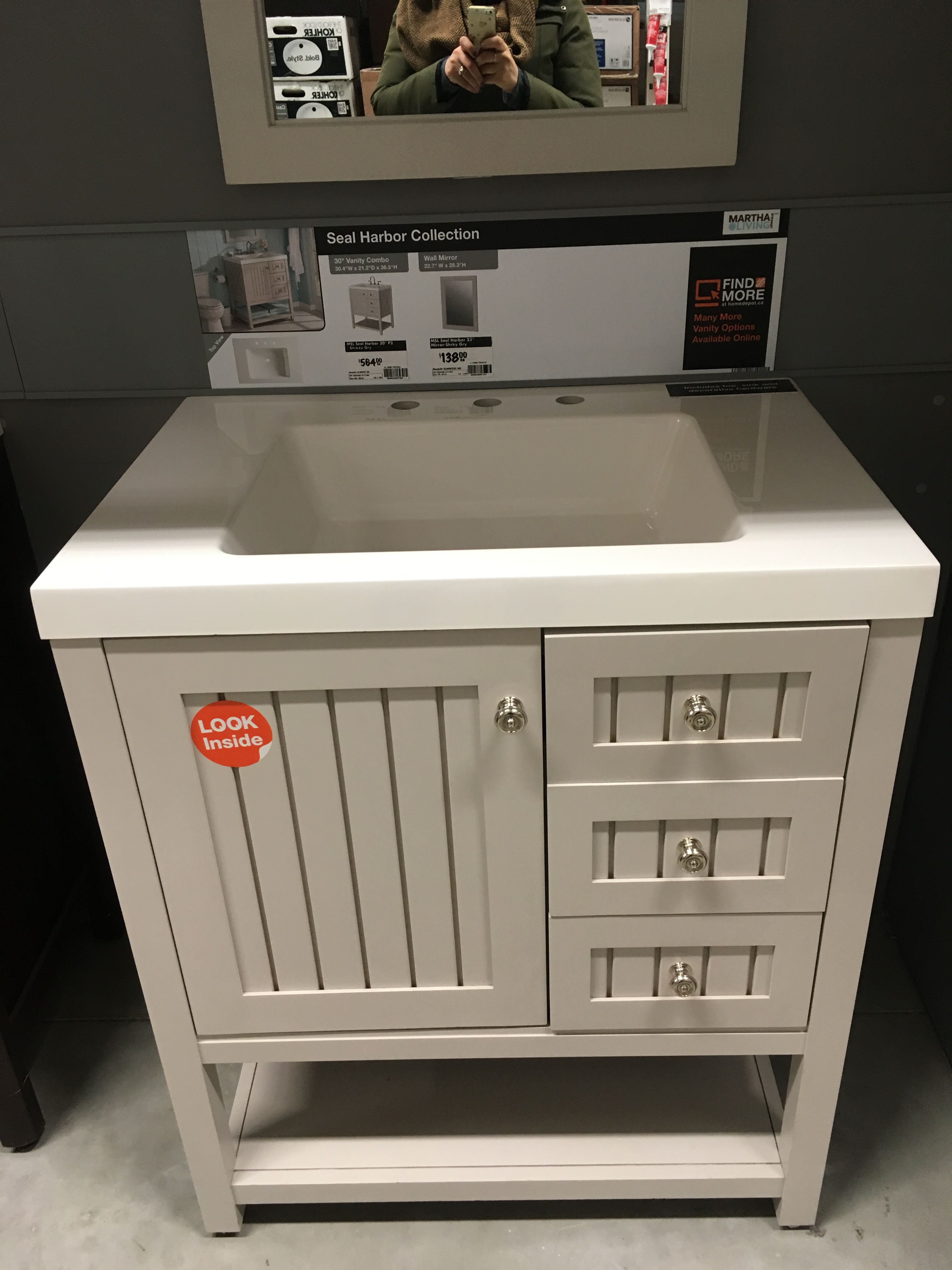 home depot vanity combo news at home