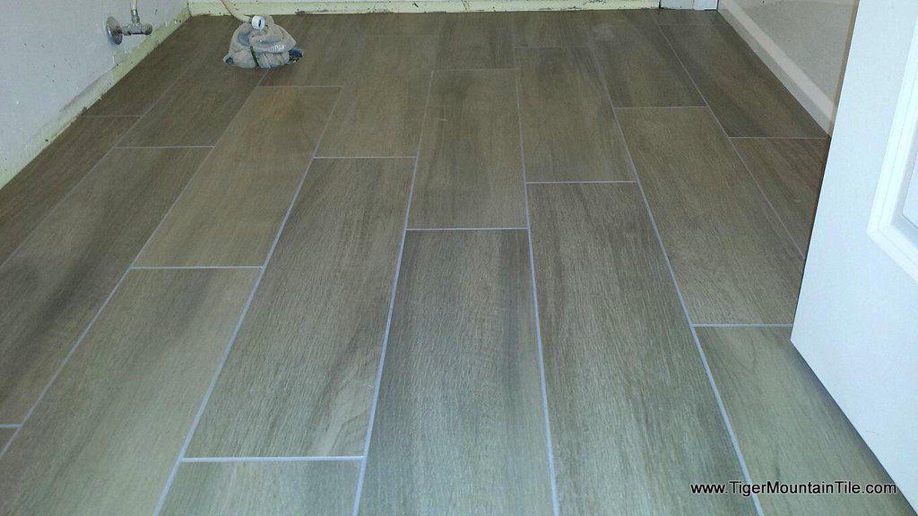random offset of porcelain wood plank tiles - What To Know About Laying Porcelain Wood Plank Tiles We Are Home