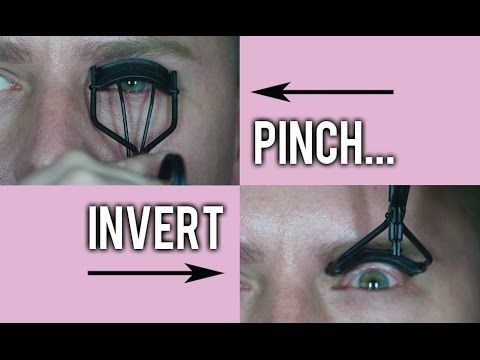 THE EYELASH CURLER TIP YOU DON'T KNOW BUT SHOULD! - YouTube // (gossmakeupartist, Wayne Goss) This didn't work very well on me when I tried it because my eyelashes are quite long and this actually bends the tips in the other direction. Aside from that, the curl was stronger, so if you have shorter lashes, go for it!