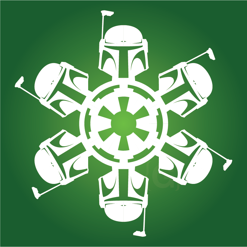Boba Fett Star Wars Snowflake Craft It Pinterest Star Wars