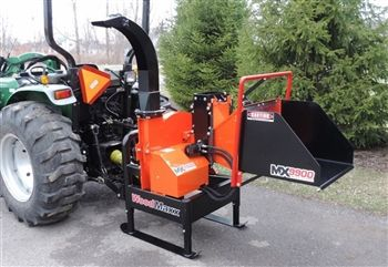 9'' PTO Wood Chipper Shredder | Made in the USA | 3pt  Wood
