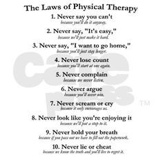 Physical Therapy Funny Quotes Quotesgram By Quotesgram