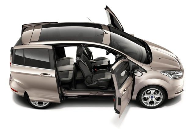 Ford Showcases Wide Opening Easy Access Doors On New B Max Ford