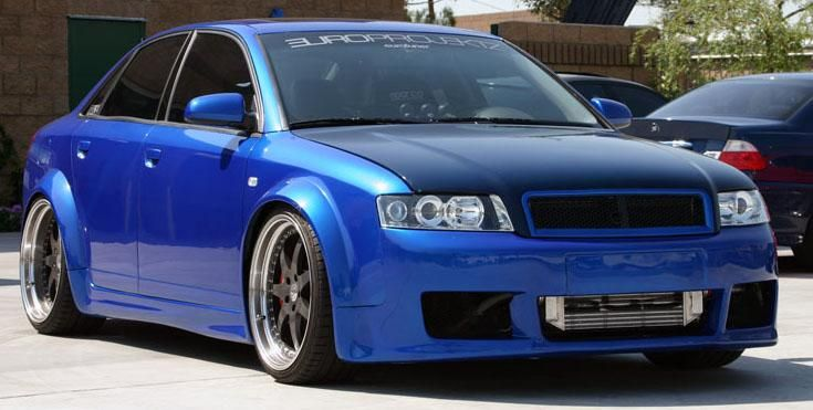 Migastyling Audi A4 B6 Wide Body Kit Kpl Pw W Wide Body Kits Audi A4 Audi