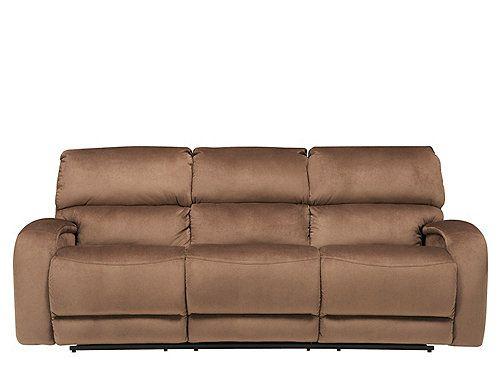 Families Will Love This Kelley Microfiber Reclining Sofa