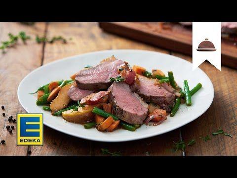 Entenbrust | Rezept mit Birnen-Schallottenragout | EDEKA - YouTube