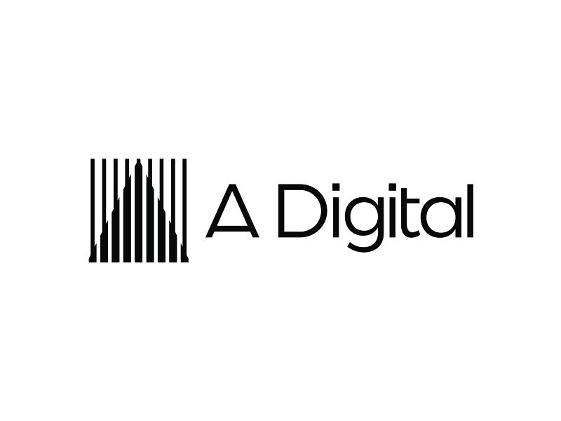 A. Digital, logo design for digital marketing agency ...
