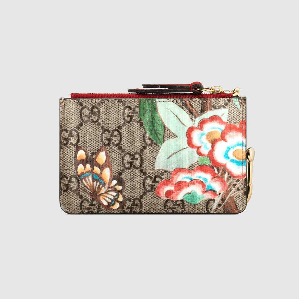 bd85b6760fb Gucci Gucci Tian GG Supreme key case Detail 3