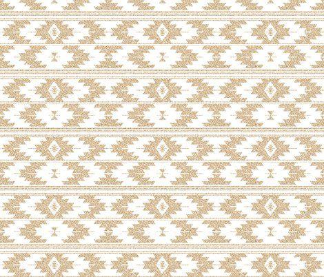 gold glitter v. I kilim - ivieclothco - Spoonflower