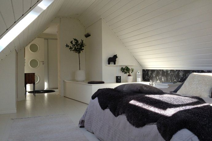 Sovrum Hemnet InspirationÖvervåning Pinterest Sovrum, Inredning och Hus