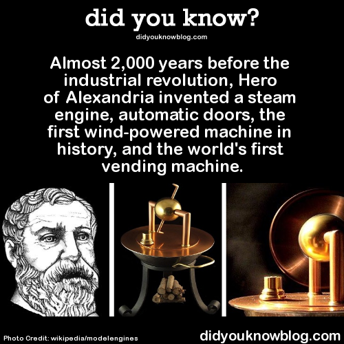 Almost 2 000 Years Before The Industrial Revolution Hero Of