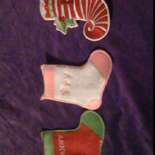 Stockings for gift cards