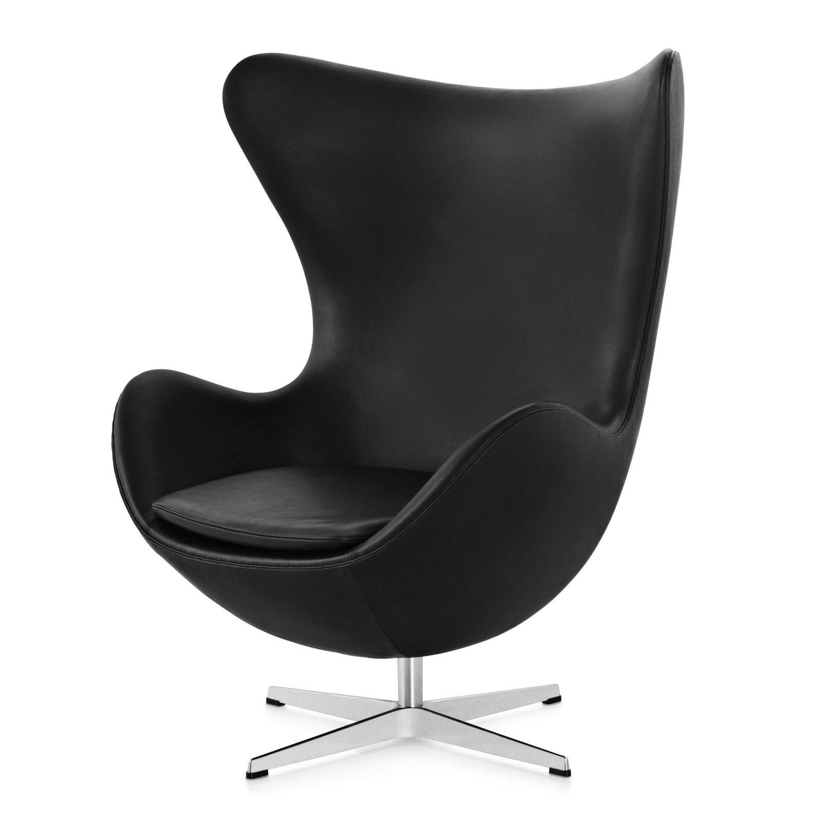 egg chair arne jacobsen 1957 denmark evolución del mueble