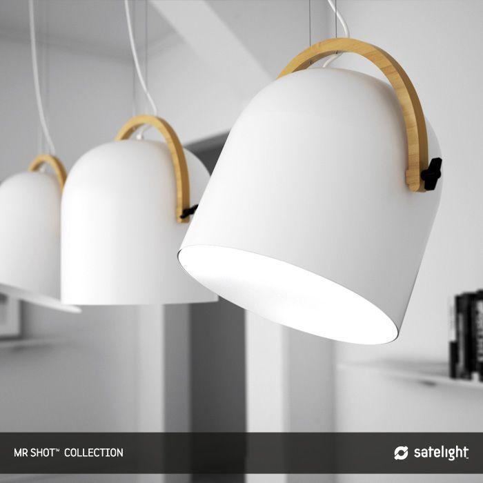 Mr Short Shot Pendant Lighting Collection Satelight Metal And
