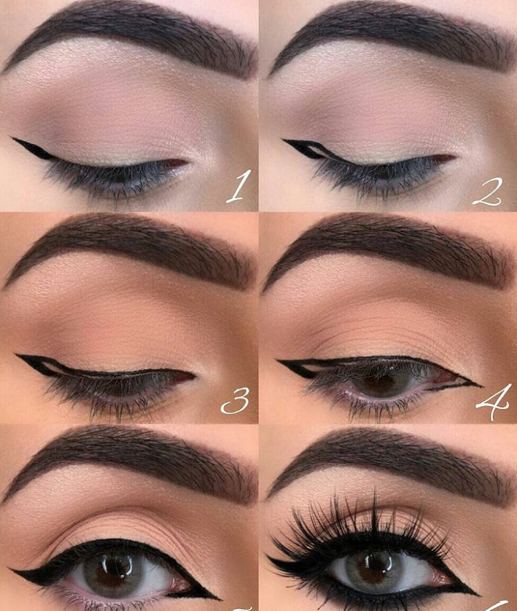 60 Easy Eye Makeup Tutorial For Beginners Step By Step Ideas Eyebrow Eyeshadow Page 35 Of 61 Latest Fashion Trends For Woman Easy Eye Makeup Tutorial Eyebrow Eyeshadow Eye Makeup Tutorial