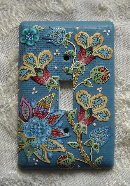 Switch Cover Polymer Clay Pinterest Polymer Clay Clay And