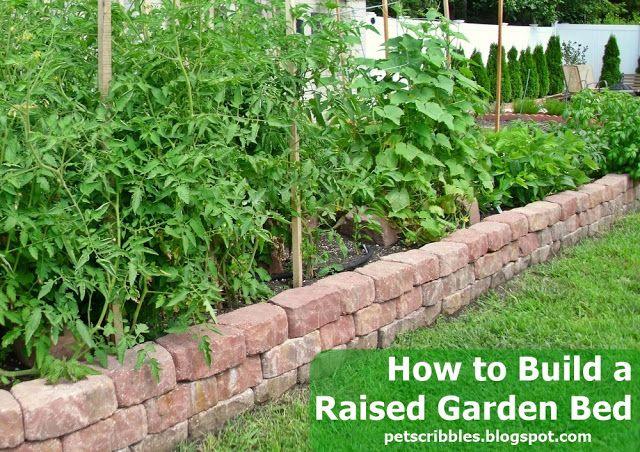 Raised Garden Bed Ideas Uk, Building A Raised Garden Bed With Bricks