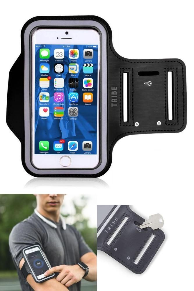 95bc381d1 Water Resistant Cell Phone Armband 52 Inch Case For Iphone 7 6 6S Se 5 5C