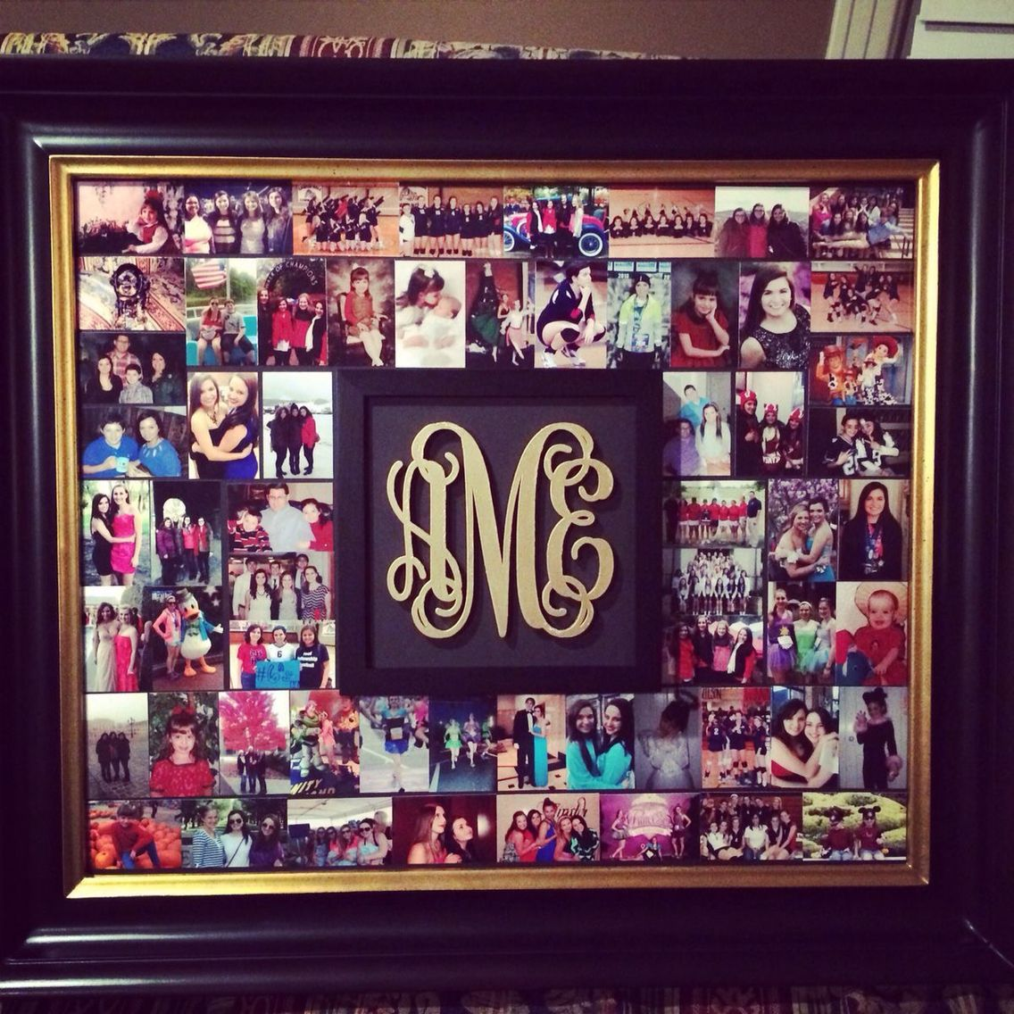 This Would Be Such A Cute Gift Diy Picture Collage Crafts