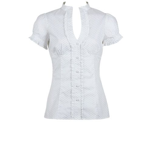 Womens White Blouse