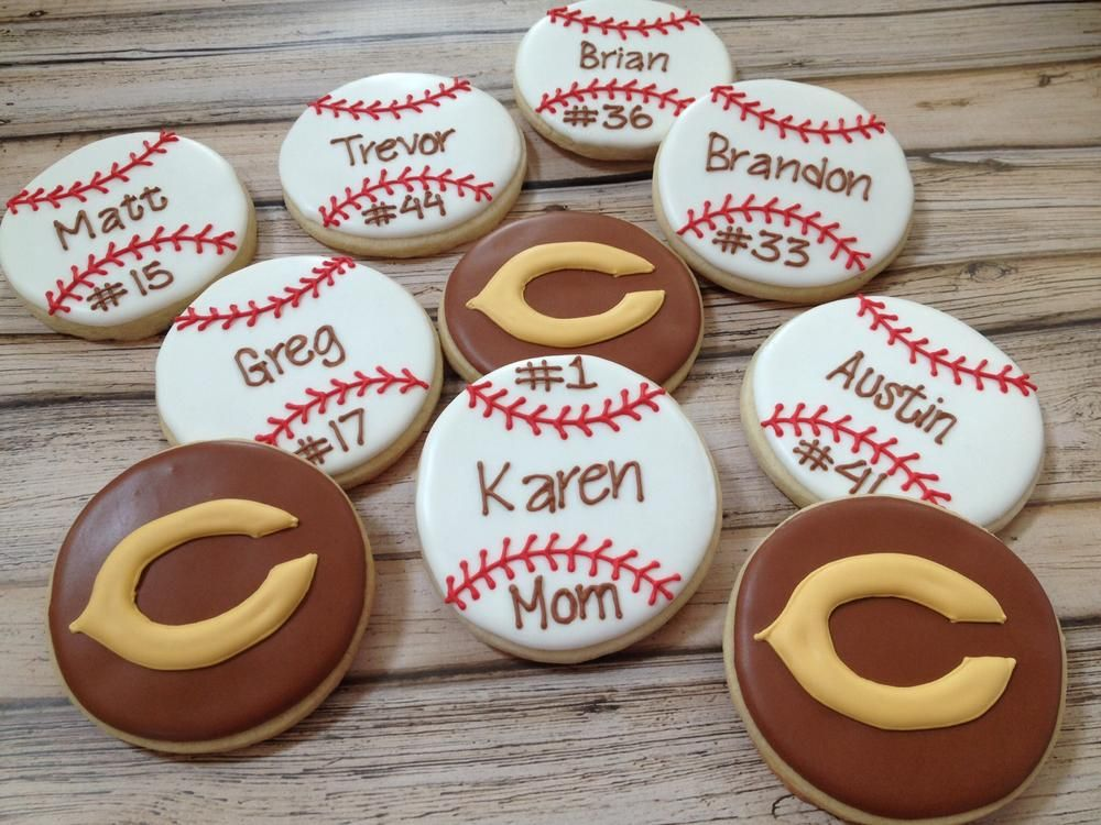 Baseball cookies | Cookie Connection