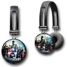 Marvel headphones .. I want em:)