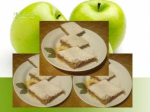 Krehký jablkový koláč...