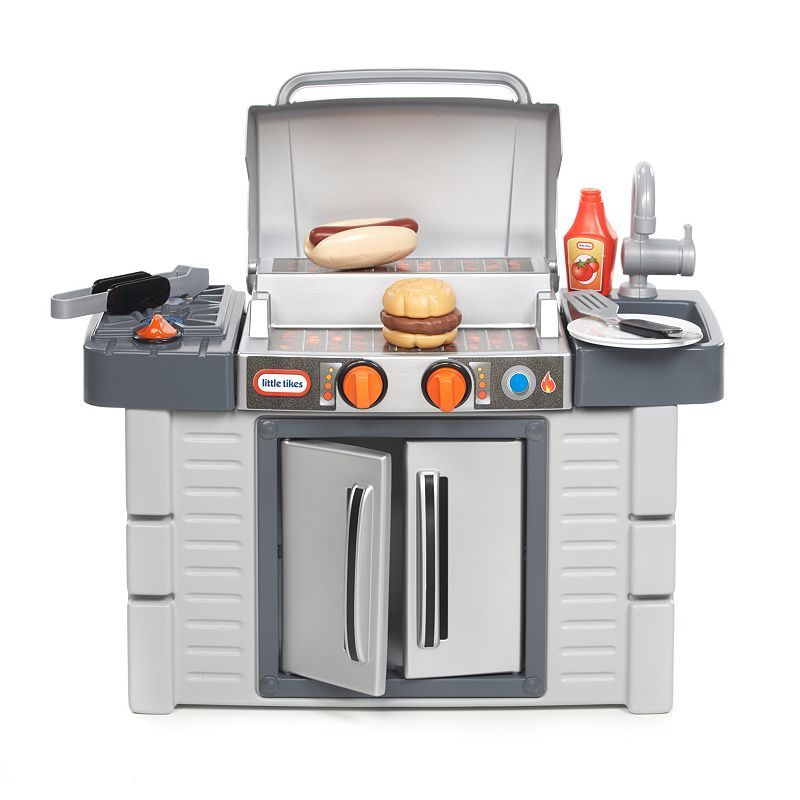 Little Tikes Cook N Grow Bbq Grill Playset Other Clrs Kids Play Kitchen Play Kitchen Sets Grilling