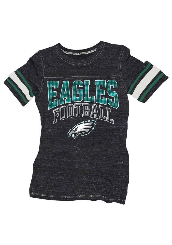 Philadelphia Eagles Womens Pink Tri-Blend Neon T-Shirt ...