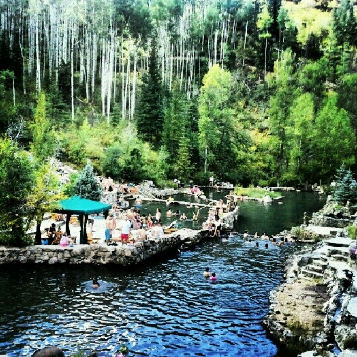 Strawberry Hot Springs, Steamboat, Colorado