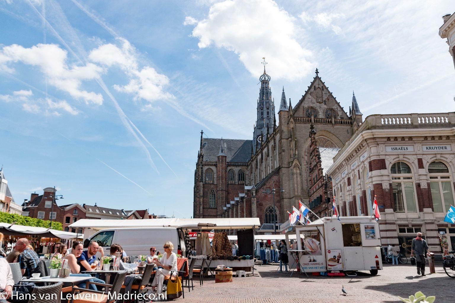 Duurzame Verlichting En Stroom Op Kerstmarkt Haarlem Haarlem