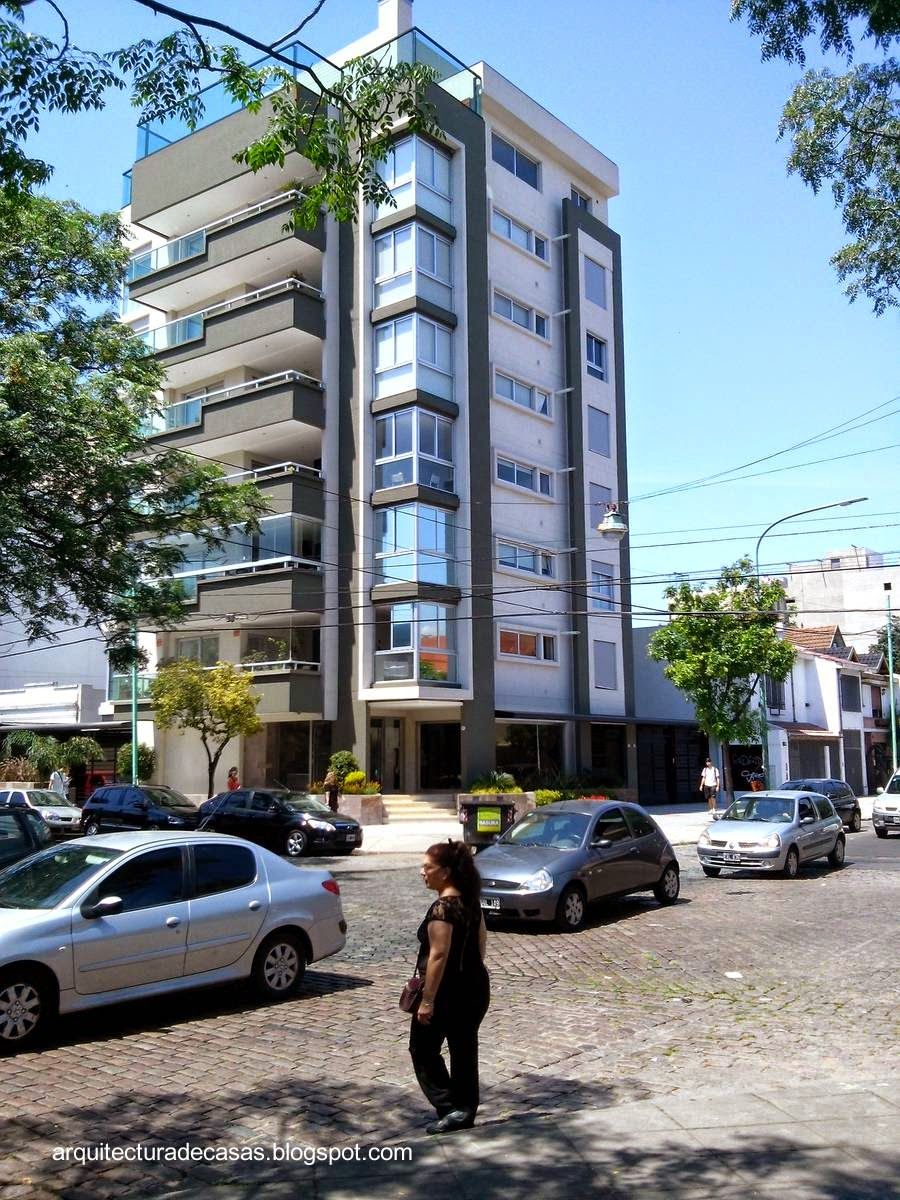 Contemporary residential building in Buenos Aires