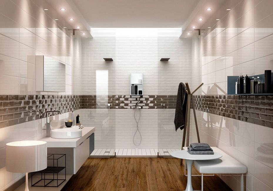 Ceramica Sant\'Agostino - Bagno : Contemporaneo, baño de segundo piso ...