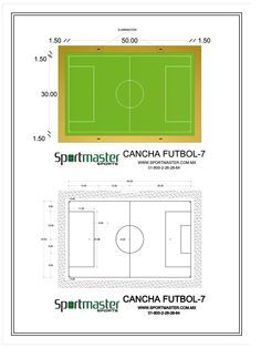 Cancha Tamano De Futbol 8 Google Search Football Pitch Backyard Sports Indoor Soccer