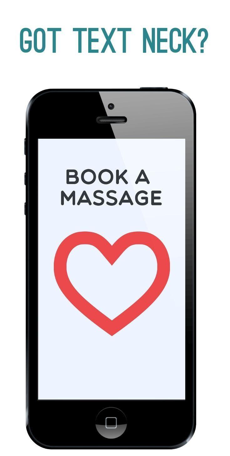 Text neck? Book a massage!