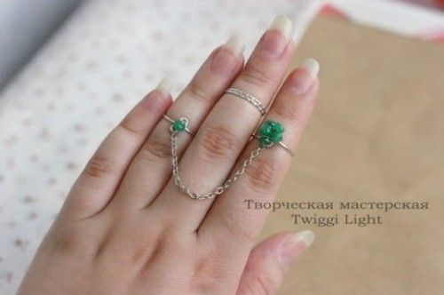 Cute DIY Wire Rings For Middle Phalanges Jewelry Making - Cute diy wire rings for middle phalanges