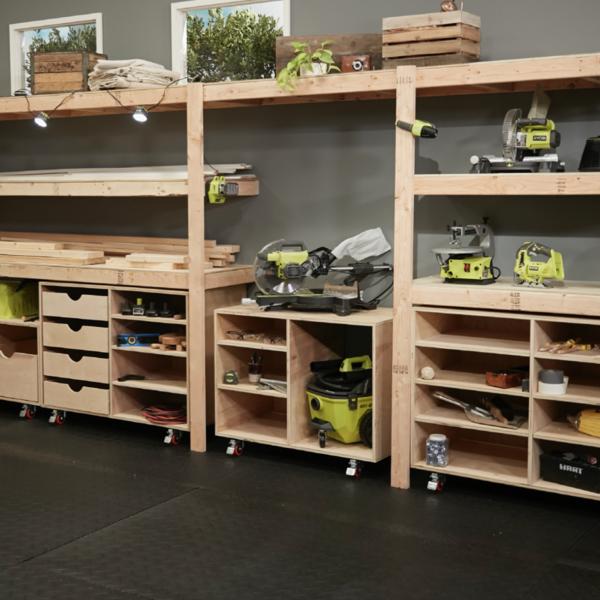 Garage Workshop Organization, Diy