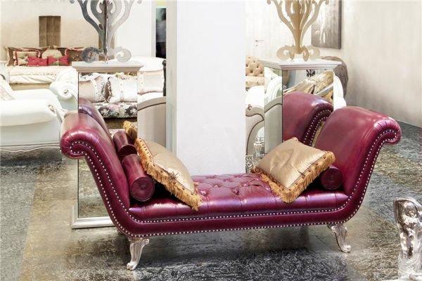 Stilvolle Wohnzimmer Einrichtung \u2013 italienische Möbel von - wohnzimmer grau magenta