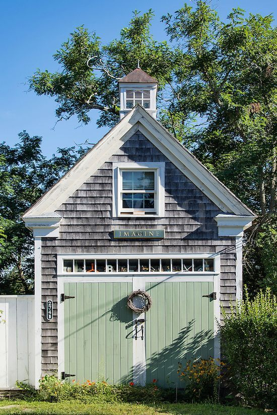 What A Great Coastal New England Looking Shed May Richer Fuller Be Defining My Style Home Exteriors