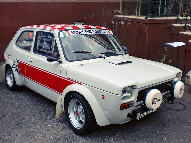 Fiat 127 Abarth Rally Car Auto Da Corsa Automobile Auto