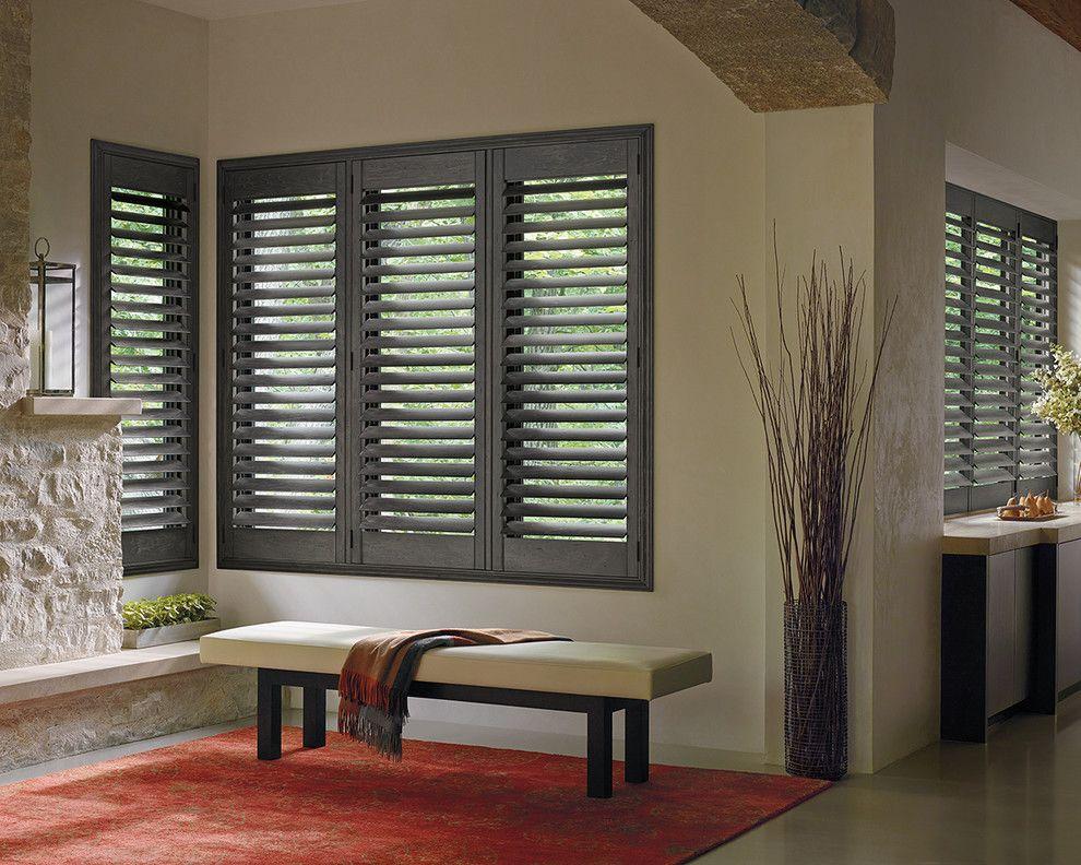 Zeitgenössische Jalousien Wood shutters, Home, Blinds