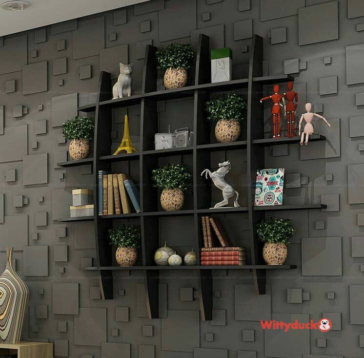 50 Modern And Unique Wall Shelf Ideas In 2020 With Images Unique Wall Shelves Wall Rack Design
