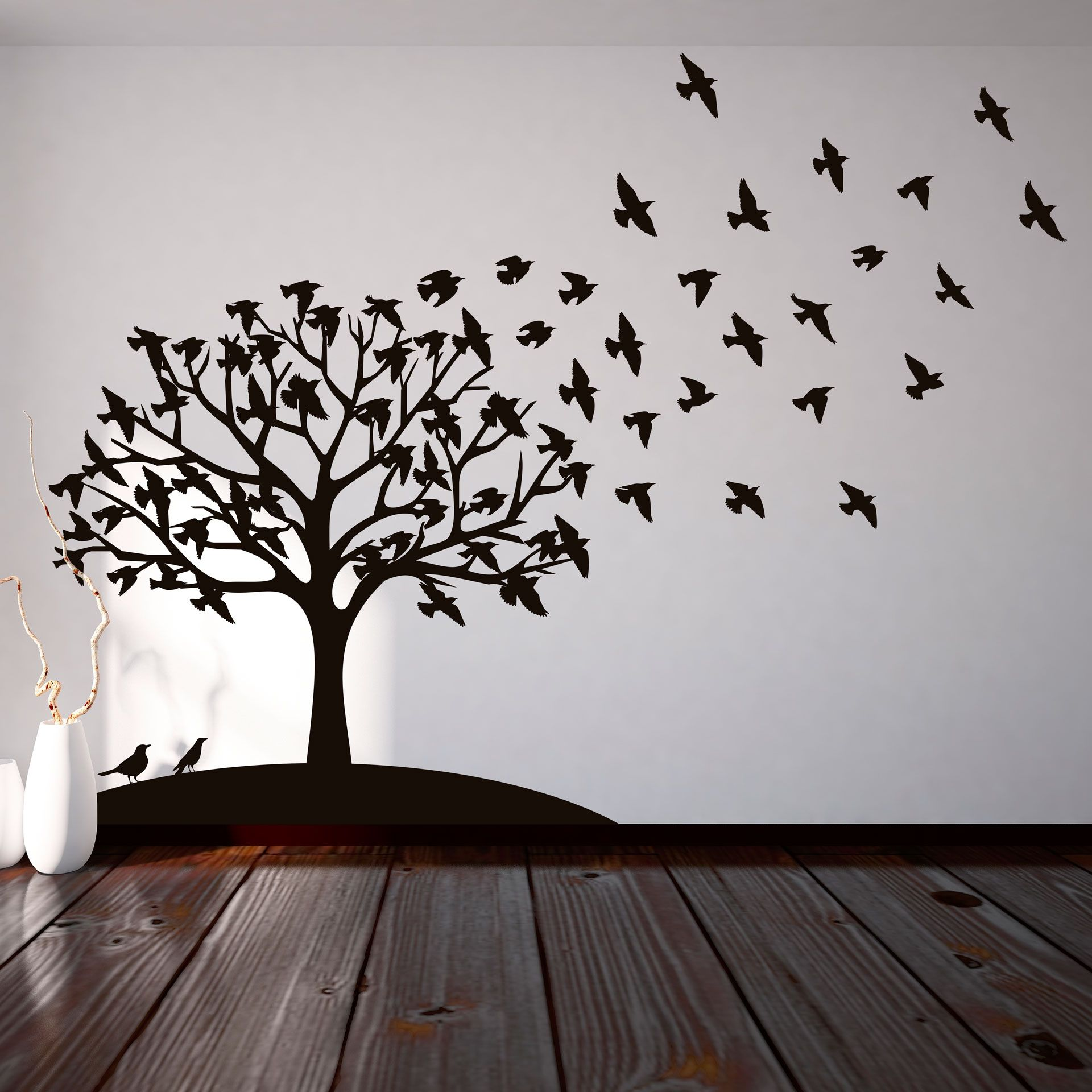 Rbol de p jaros walls room and ideas para for Vivero online arboles