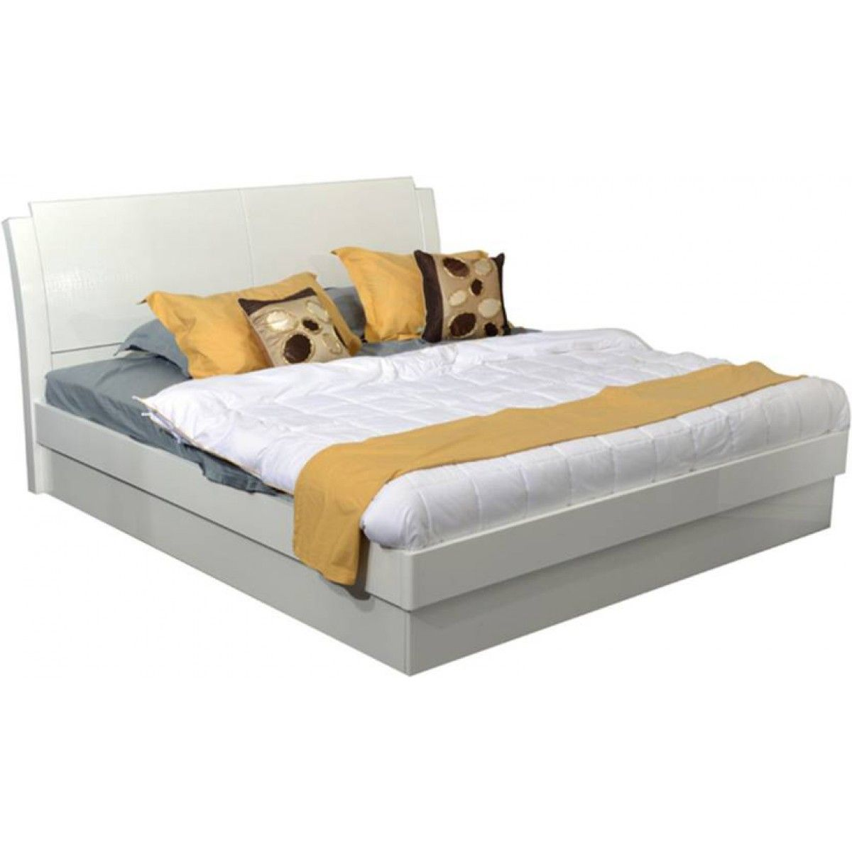 Aspen Crated White Queen Size Bed With Storage In 2018 Rock Solid