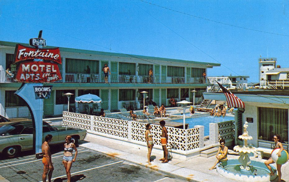 A compendium of vintage pool parties vintage hotels