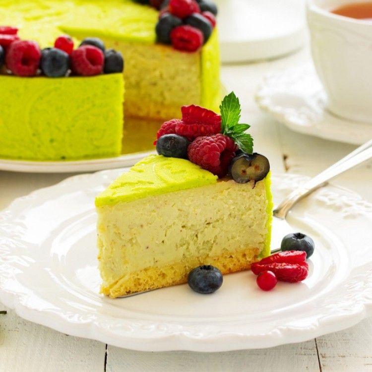تشيز كيك الفستق الحلبي مطبخ سيدتي Recipe In 2020 Cheesecake Food Desserts